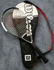 """Wilson Racquet nCode N6 Oversize Tennis Racket with Original Case - 4 1/2"""" Grip"""