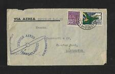 ZEPPELIN BRAZIL TO UK AIR MAIL COVER 1933