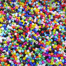 Jewelry Making DIY 1000pcs 2mm Lot Czech glass seed beads MIXED About 15G