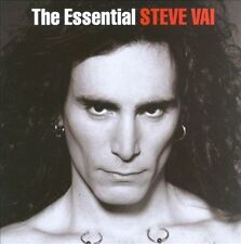 NEW Steve Vai The Essential Steve Vai 2 cd Satriani Zappa Whitesnake FREE Ship