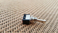 New ON-OFF-ON SPDT Flat Shaft Metal Mini Toggle Switch for Guitar Effects Pedal