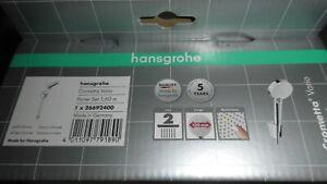Hansgrohe Handbrause Crometta 100 Vario Porter Set Brause-Schlauch 160cm Halter