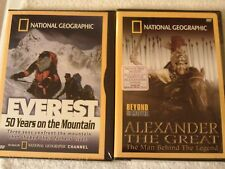 LOT OF 2  NATIONAL GEOGRAPHIC DVDS NIP