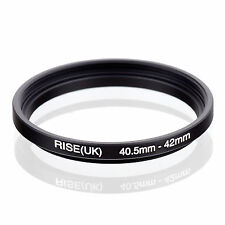 40.5mm to 42mm 40.5-42 40.5-42mm40.5mm-42mm Stepping Step Up Filter Ring Adapter