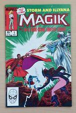 Magik #1-4 Complete Series - Storm & Illyana, X-Men, Colossus (1983, Marvel)