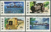 Nauru 1982 SG267-270 Phosphate Shipments set MNH