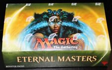Eternal Masters MTG (Magic the Gathering) Factory Sealed 4 Box Booster Case