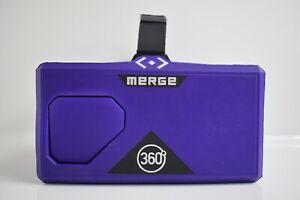 Purple Merge 360 VR and AR Headset
