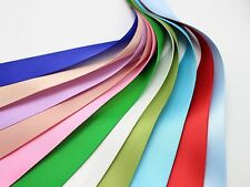 "10 Meter 25mm(1"") Double Sided Satin Ribbon Gift Bow Wedding Craft 10 Color"