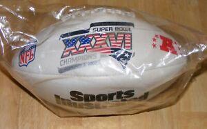 Sports Illustrated Patriots SUPER BOWL 36 XXXVI CHAMPIONS FOOTBALL 2002 W Box