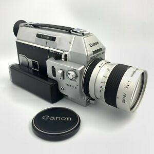 [All Works EXC5] Canon Auto Zoom 814 Electronic Super 8 8mm Film Camera Japan