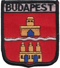 Hungary Budapest Coat of Arms Shield Embroidered Patch