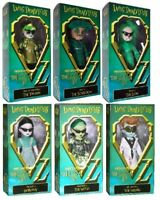 MEZCO - LIVING DEAD DOLLS - LOST IN OZ EMERALD - 6 BEST & MOST LIKED COLLECTION