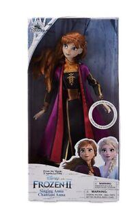 Disney Frozen 2 Singing Anna Fashion Doll Musical Singing Doll BNIB