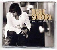 Richie Sambora CD Hard Times Comme Easy - 1 piste promo - Bon Jovi solo