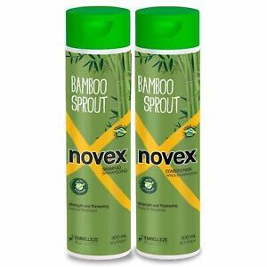 Novex Bamboo Bambu Sprout Shampoo & Conditioner 10.14 oz Duo Set by Novex