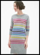 Gap Women's NWT Crazy Stripe Crewneck Sweater Dress Size Small
