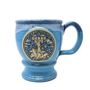 "BONES COFFEE COMPANY Co. ""SHARK BITE 2021"" Mug (Deneen Pottery) LIMITED"