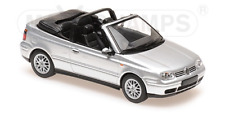 VW Golf 4 Cabrio 1998 silber 1:43 MaXichamps Minichamps 940058331 neu & OVP