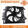 Radiator Cooling Fan for 08-10 Chrysler Town & Country Dodge Grand Caravan Black