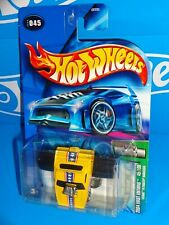 Hot Wheels 2004 First Editions #45 FATBAX Barracuda Yellow SNAKE w Black Windows