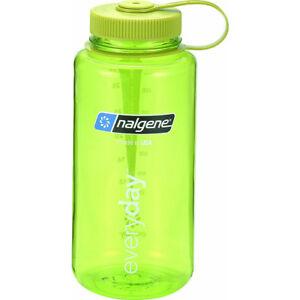Nalgene Tritan Wide Mouth Water Bottle - 32 oz. - Spring Green/Green