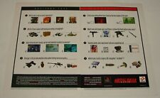 1998 two page video game ad ~ METAL GEAR SOLID