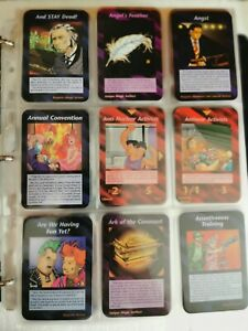 FULL UNLIMITED ILLUMINATI NEW WORLD ORDER INWO 409/409 CARDS GAMES 1995