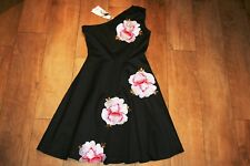 NEW&TAGS dress SIZE S 8 10 party embellished embroidered occasion 50's prom ball
