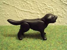 Playmobil dier zwarte hond RARE (3732)