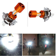 1pc H4 18W Motorcycle Headlight Bulb 2000LM Super Bright COB 3LED Hi/Lo Fog Lamp