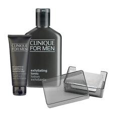 Clinique Men Homme Skincare Set Oil Control Moisturizer+Cleansing Soap+Toner#b39