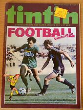 BD Comics Magazine Hebdo Journal Tintin No 37 34e 1979 Football Saison 79/80