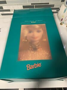 1995 - HOLIDAY JEWEL HOLIDAY PORCELAIN BARBIE COLLECTION DOLL