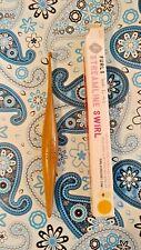 Furls Streamline Teak Wood Crochet Hook Size G 4.0 mm ~ Ergonomic Crochet Hook