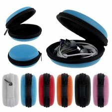 Hard Case Pouch Storage Bag For Sd Tf Card Earphone Headphone Earbuds