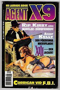 Agent X-9 5/1993 – original Secret Agent X9 story, Flash Gordon reprint