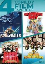 SPACEBALLS/GRANDMAS BOY/ROBIN HOOD MEN IN TIGHTS/SUPER TROOPERS (DVD, 2014) NEW