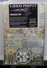 PARAGRAFIX 1/350 Star Trek: USS Enterprise Refit Photo-Etch Set for PLL PGX111