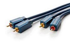 Cable de Audio Estéreo informal 3m/RCA Cable coaxial para potente sonido estéreo
