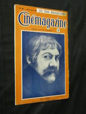DEC 16, 1921 FRENCH CINEMAGAZINE Uncut Complete 27 pgs