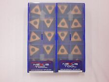 20pc NEXUS Carbide Inserts TCMT 32.52 HM 251 Indexable Coated Tips Bits 483SO