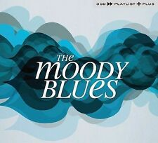 Playlist Plus [Slipcase] by The Moody Blues (CD, Apr-2008, 3 Discs, Polydor)