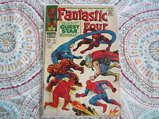FANTASTIC FOUR #73 COMIC   spider-man, daredevil, thor crossover