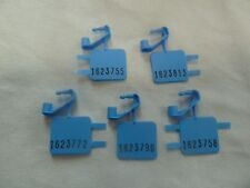New Blue Coin Box Seal for Payphone Payphones Vending Machines Set of 5