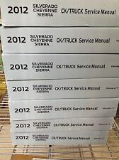 2012 Chevy Silverado TRUCK GMC Sierra Denali Service Shop Repair Manual Set