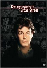 GIVE MY REGARDS TO BROAD STREET (1984 Paul McCartney)  -  DVD - REGION 1  sealed