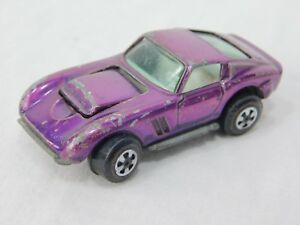 Original Johnny Lightning Toppers Purple Custom Ferrari Toy Car dr52