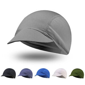 Quick-Drying Cycling Hat Bicycle Cap Breathable Mesh Fabrics Hats Riding Caps