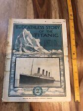 Titanic Original 1912 Lloyds Magazine